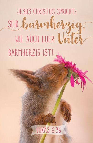 """Kalenderkärtchen 2021 ''Eichhörnchen"""""""
