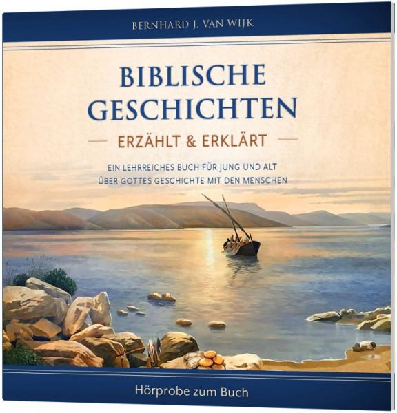 Biblische Geschichten - erzählt und erklärt - Hörprobe-CD