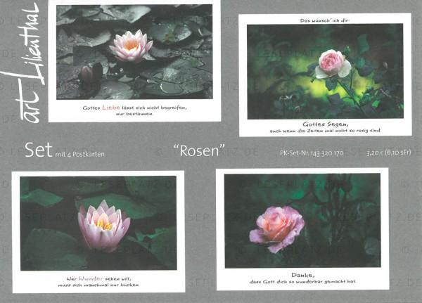 Postkarten-Set ''Rosen''