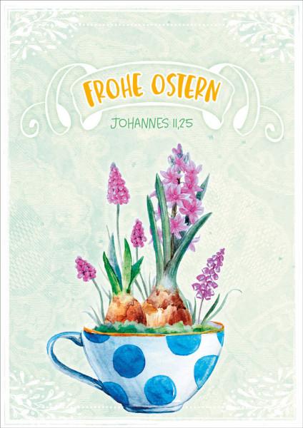 """Faltkarte """"Frohe Ostern"""""""