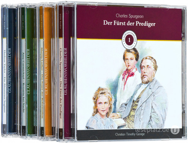 Glaubensvorbilder - CD-Paket