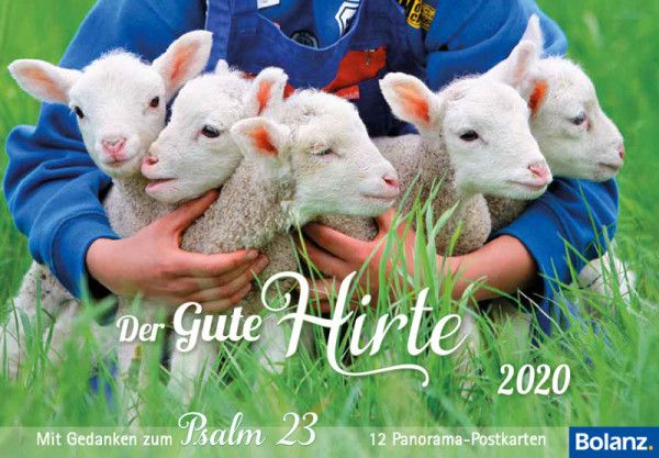 Der Gute Hirte 2020 - Postkartenkalender