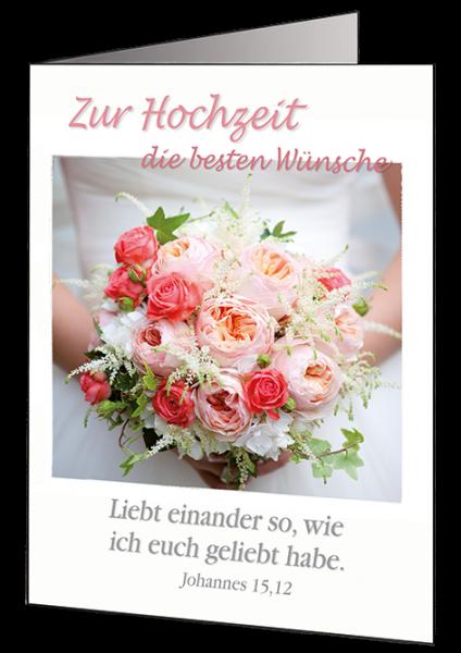"Faltkarte ""Hochzeit"""