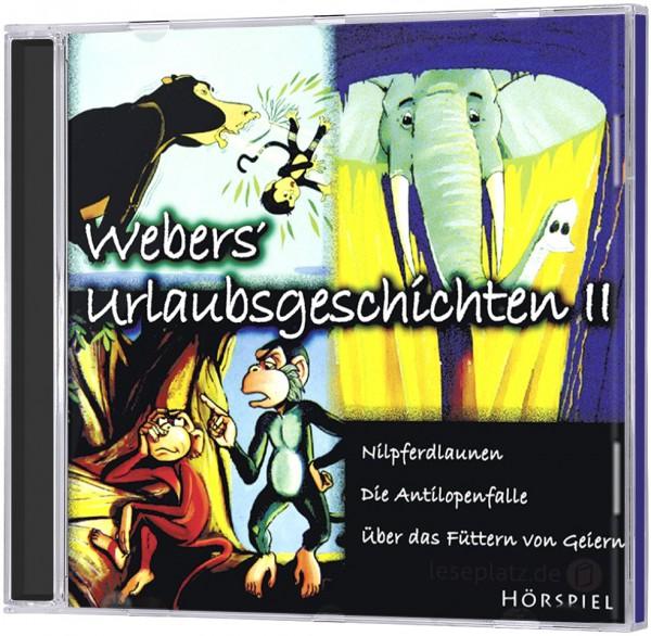 Webers Urlaubsgeschichten II - CD
