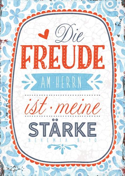 "Postkarte ""Die Freude am Herrn"""