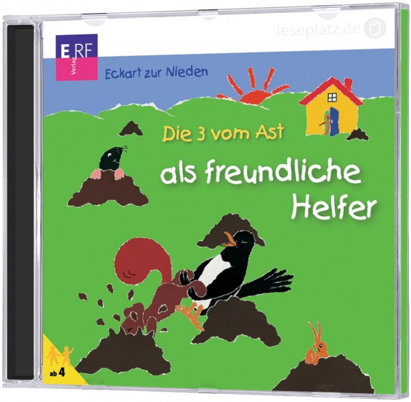 Die 3 vom Ast ... als freundliche Helfer - CD