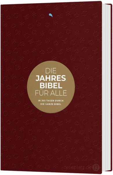 Hoffnung für Alle. Die Jahresbibel - Red Edition