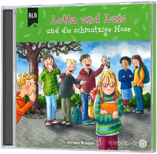 Lotta und Luis und die schmutzige Hose - CD