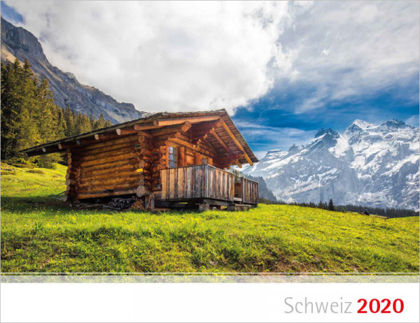 Schweiz 2020 - Wandkalender