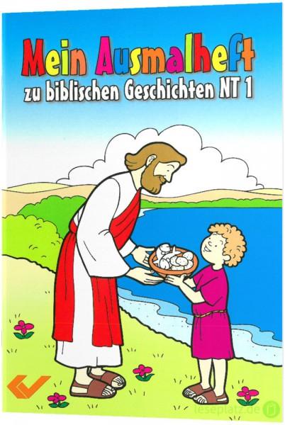 Mein Ausmalheft zu biblischen Geschichten - NT 1