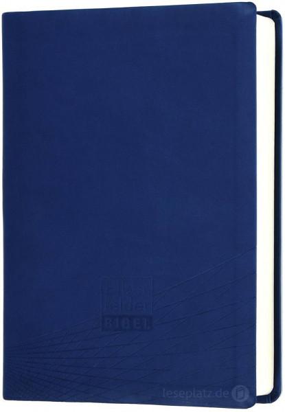 Elberfelder Bibel 2006 Standardausgabe - Kunstleder blau