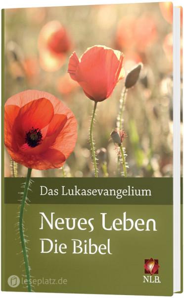 Neues Leben. Die Bibel - Das Lukasevangelium Motiv ''Mohnblume''