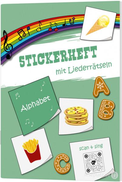 """Stickerheft """"Alphabet"""""""