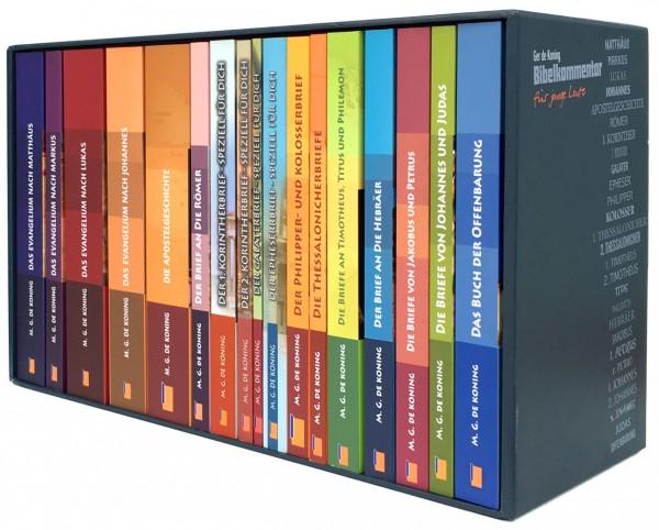 Ger de Koning - Bibelkommentar (17 Bände im Schuber)