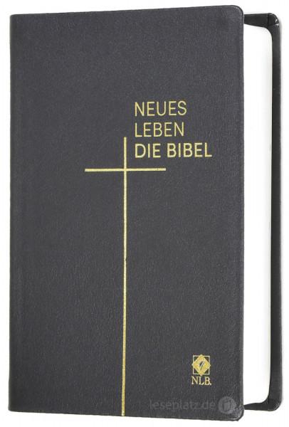 Neues Leben. Die Bibel - Taschenausgabe - Leder grau