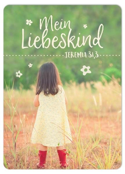 """Postkarte """"Big Blessing - Mein Liebeskind"""""""