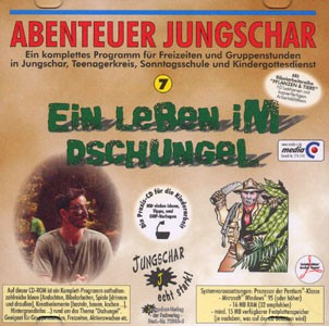 Ein Leben im Dschungel - CD-ROM Abenteuer Jungschar 7