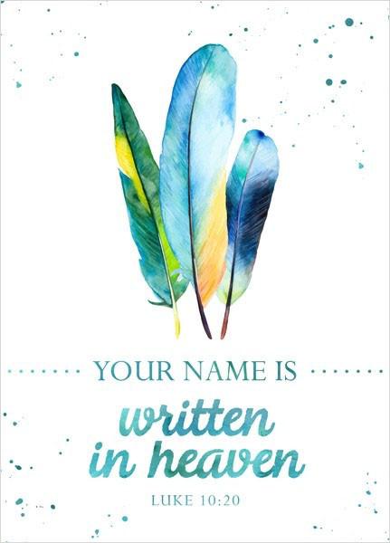 """Postkarte """"Big Blessing - Written in heaven"""""""