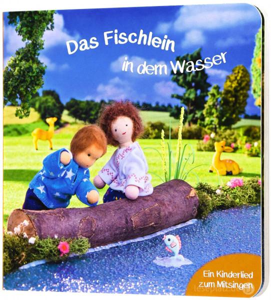 Das Fischlein in dem Wasser - Pappbuch