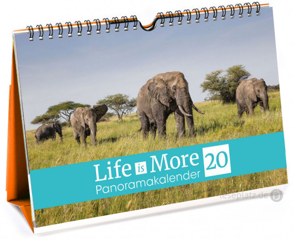 Life-is-More 2020 - Panoramakalender