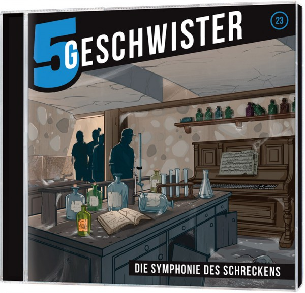 5 Geschwister CD (23) - Die Symphonie des Schreckens