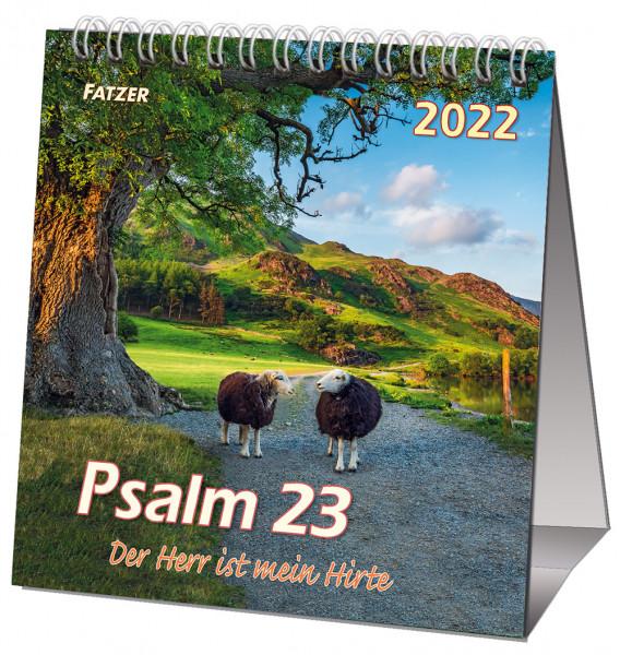 Psalm 23 - Tischkalender 2022