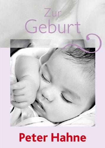 Zur Geburt - Grußbrief