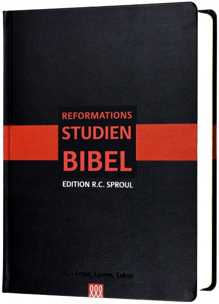 Reformations-Studien-Bibel - Softcover schwarz
