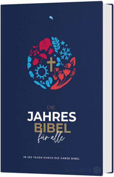 Hoffnung für Alle. Die Jahresbibel - Blue Edition