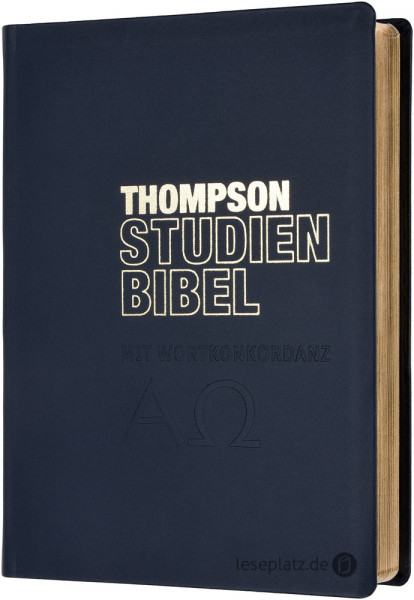 Thompson Studienbibel - Leder / Goldschnitt