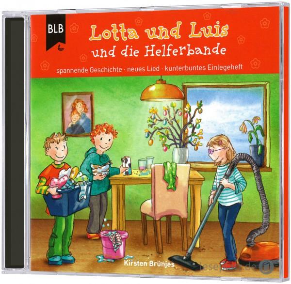 Lotta und Luis und die Helferbande - CD