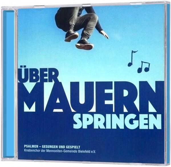 Über Mauern springen - CD