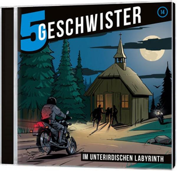 5 Geschwister CD (14) - Im unterirdischen Labyrinth