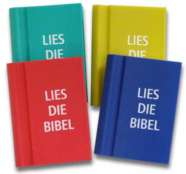 Radiergummi - Bibel ''Lies die Bibel''