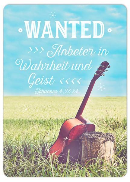 """Postkarte """"Anbeter in Wahrheit"""""""