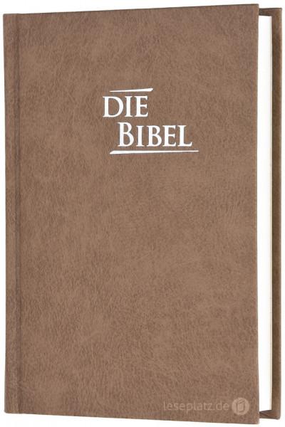 Elberfelder 2003 - Pocketausgabe / Hardcover sandbraun