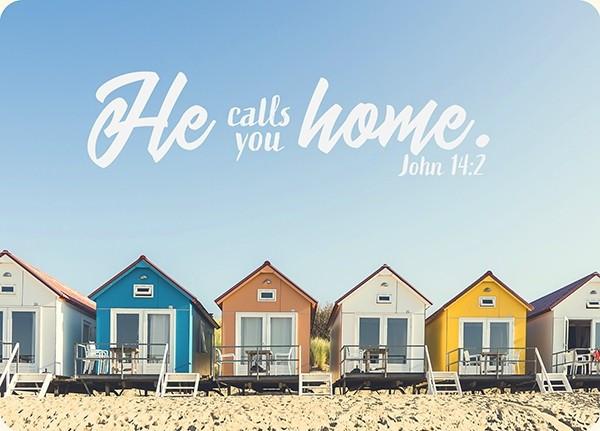 """Postkarte - Big Blessing """"Home"""""""