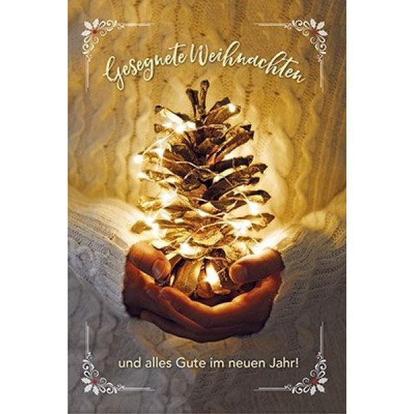 Faltkarte: Gesegnete Weihnachten