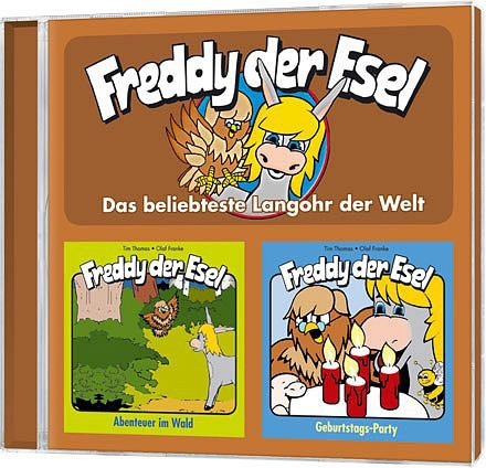 Freddy der Esel - Folge 3 + 4 Doppel-CD