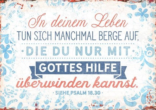 "Postkarte ""In deinem Leben"""