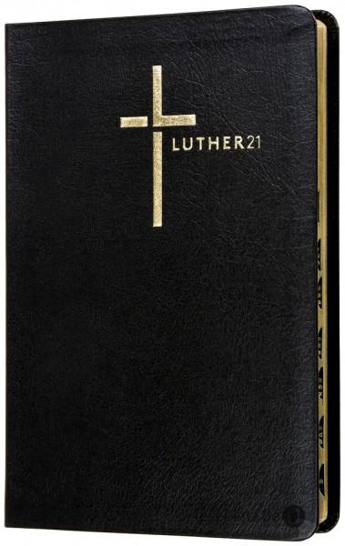 Luther21 - Standardausgabe - Lederfaserstoff schwarz