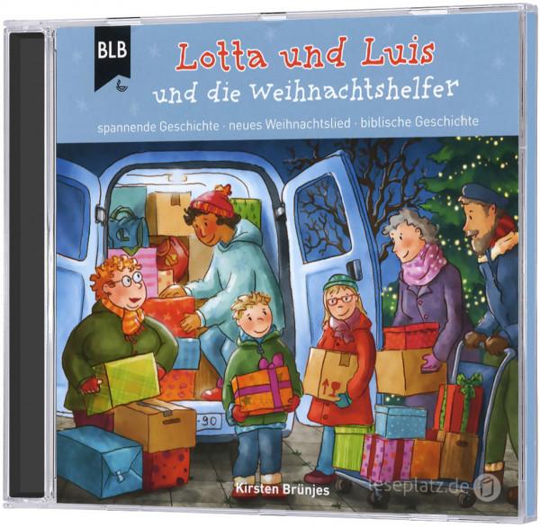 Lotta und Luis und die Weihnachtshelfer - CD