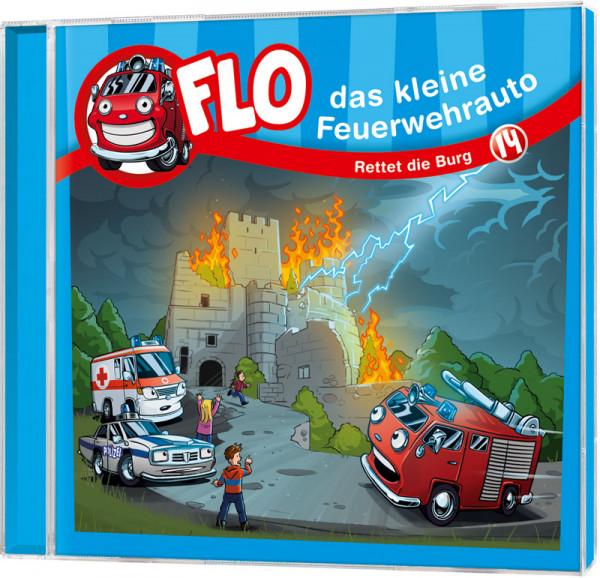Flo - Das kleine Feuerwehrauto (14) - CD