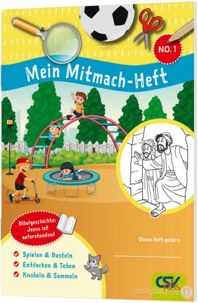 Mein Mitmach-Heft No.1