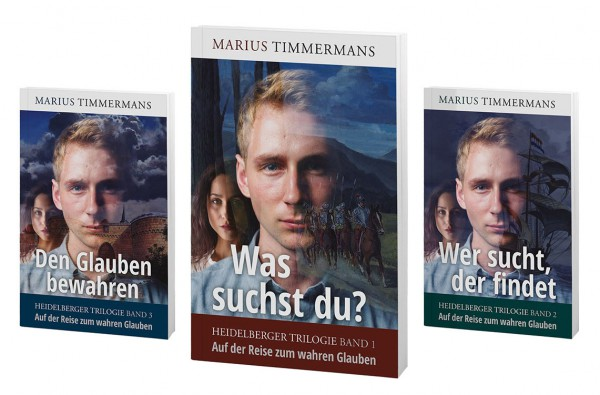 """Buchpaket """"Heidelberger Trilogie"""""""