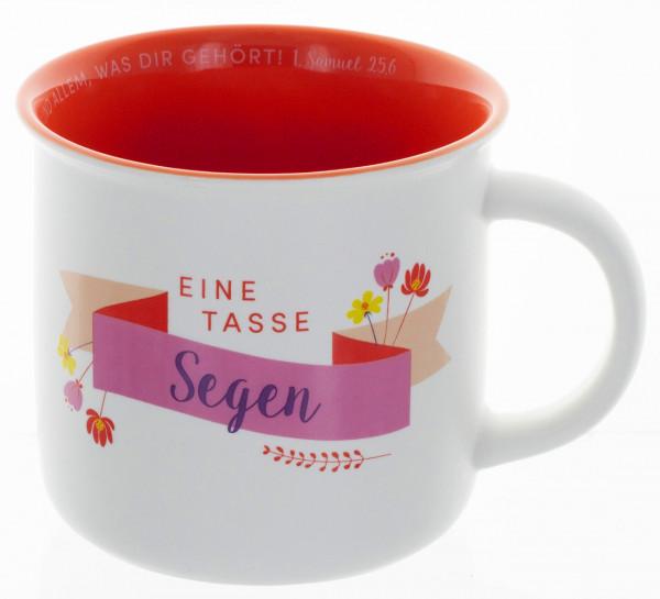 """Tasse """"Eine Tasse Segen"""""""