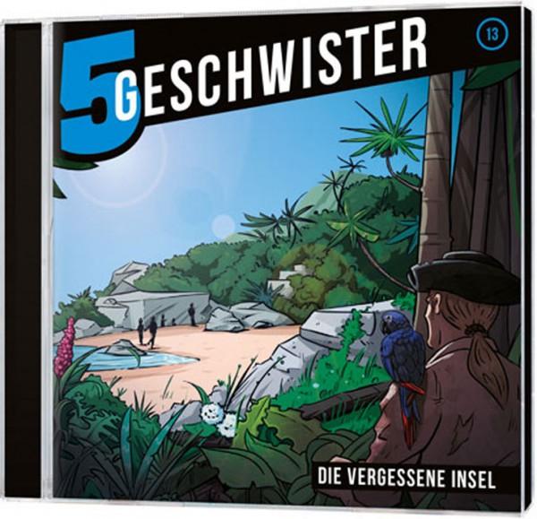 5 Geschwister CD (13) - Die vergessene Insel