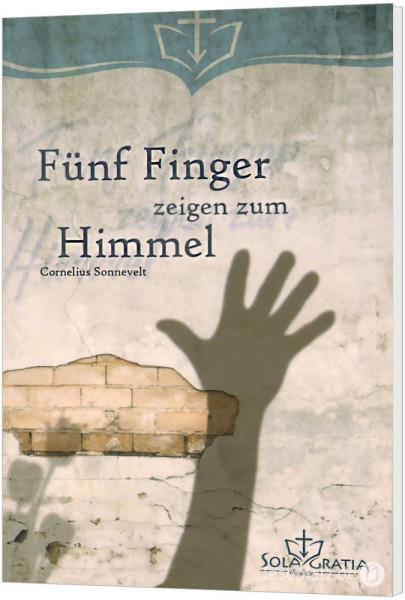 Fünf Finger zeigen zum Himmel