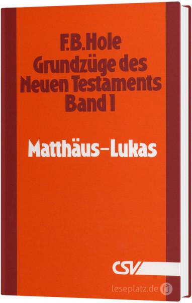 Grundzüge des Neuen Testaments - Band 1