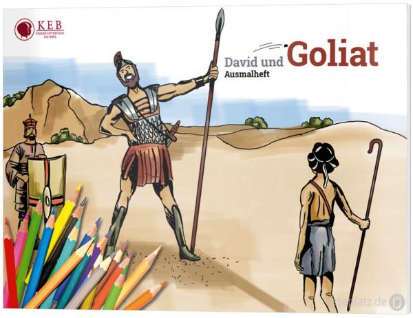 David und Goliat - Ausmalheft